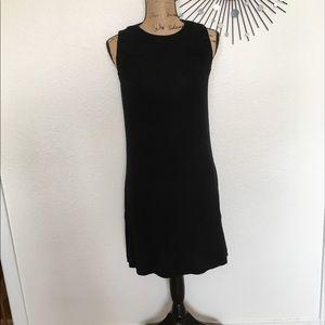 Beautiful flowy black tank dress